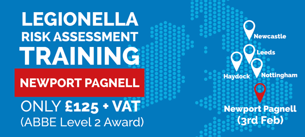 Legionella Risk Assessment Training – Newport Pagnell – 03.02.2016